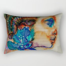 Homage to Schiaparelli couture Rectangular Pillow