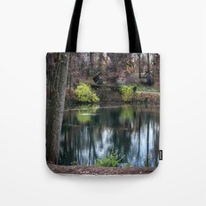 Cemetery Reflections Tote Bag