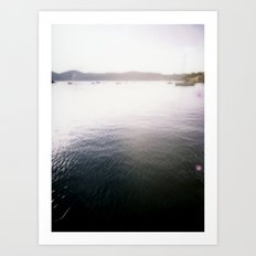 Spanish Sunset Art Print