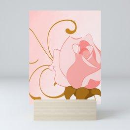 Minimalist Rose Mini Art Print