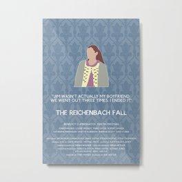 The Reichenbach Fall - Molly Hooper Metal Print
