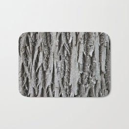 Rustic Tree Bark Bath Mat
