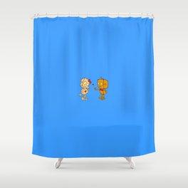 Bibo+Bobo Shower Curtain