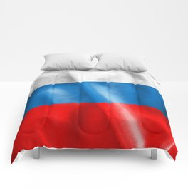 Russian Federation Flag Comforters