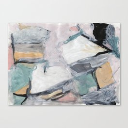 """The """"Oh"""" Abstract Canvas Print"""