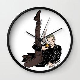 Leggy Spike Wall Clock