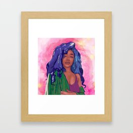 Serve Framed Art Print