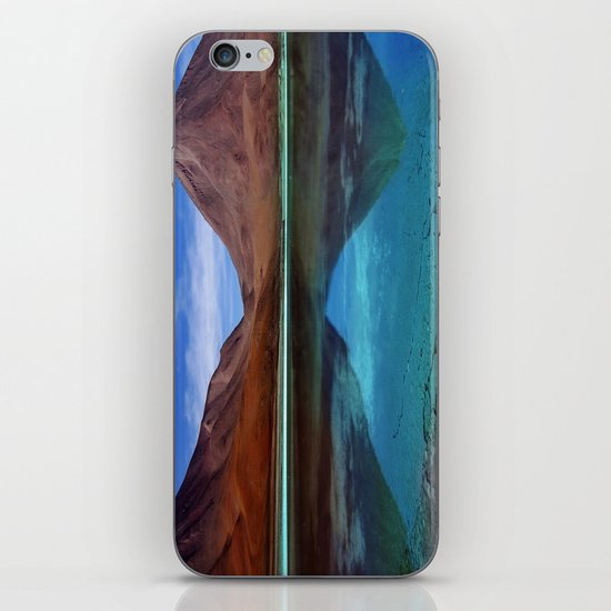 Laguna Verde iPhone & iPod Skin