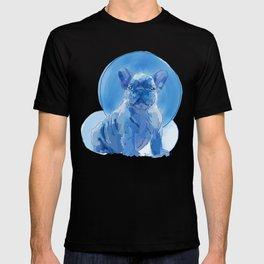 Monochromatic French Bulldog T-shirt
