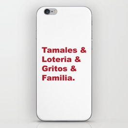Traditions iPhone Skin