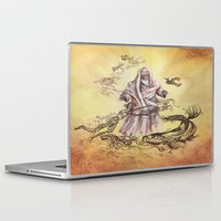 religious Laptop & iPad Skins featuring Jesus Christ and Religious Symbols by Sonya ann