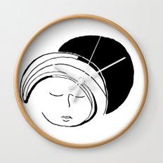 Moon Mode Wall Clock