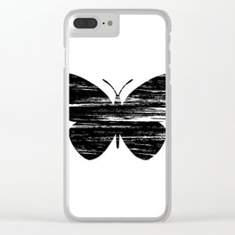 Buterfly Silouetthe Clear iPhone Case