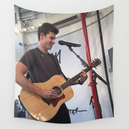 Shawn in NYC Wall Tapestry