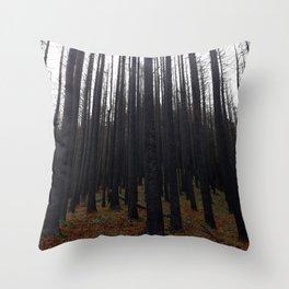 Silent Sentinels Throw Pillow