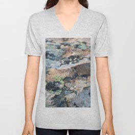 Mossy Granite Unisex V-Neck