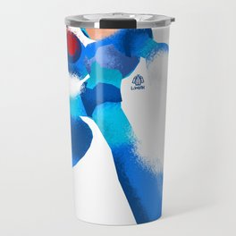 Megaman Minimalist splash poster Travel Mug