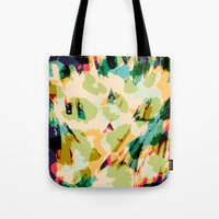 wildlife Tote Bags featuring Wildlife by Lynsey Ledray