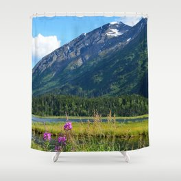July at Tern Lake - II Shower Curtain