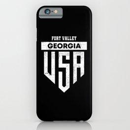 Fort Valley Georgia iPhone Case