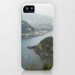La Concha Beach, San Sebastian - Donostia-San, Spain II iPhone Case