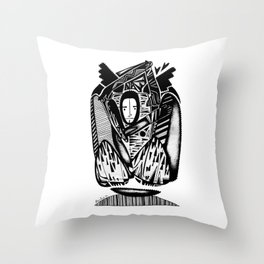 Winter - Emilie Record Throw Pillow