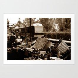 """""""Estación del Anticuario"""" Art Print"""