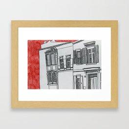 Strasse  Framed Art Print