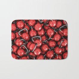 Kettlebells RED Bath Mat