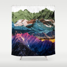 Dream Nature MOUNTAINS Shower Curtain