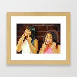 YAS KWEEN Framed Art Print