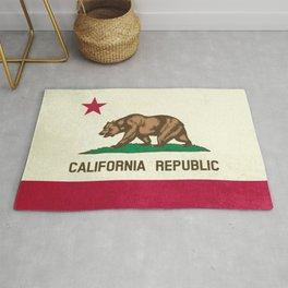 California Republic Flag Rug