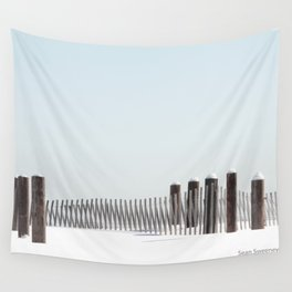 Linear Winter Wall Tapestry