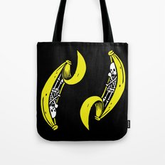 Banana Skeleton Tote Bag