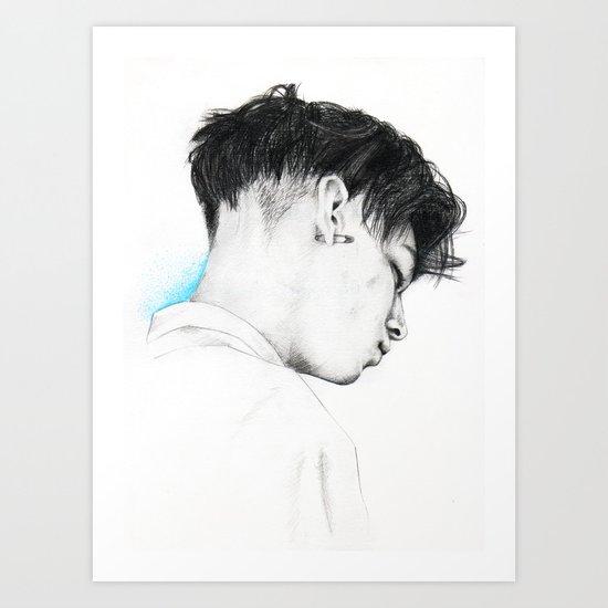 A Million Little Pieces. Art Print