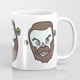 Faces of Mr Berlin Coffee Mug