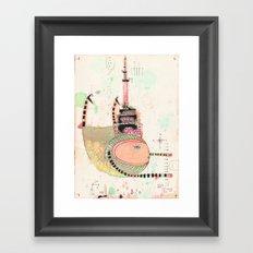 Fly Toronto Framed Art Print