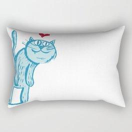 Luuuurv Cat Rectangular Pillow