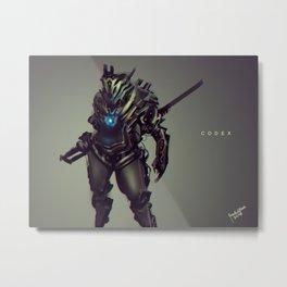 Codex Metal Print