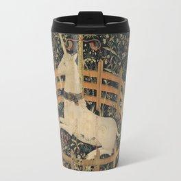 The Unicorn in Captivity (from the Unicorn Tapestries) Travel Mug