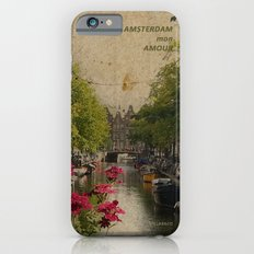 Amsterdam mon amour iPhone 6s Slim Case