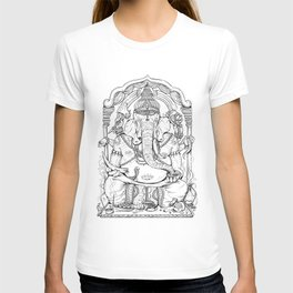 Ganesha Lineart T-shirt