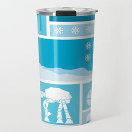 Happy Holidays from Hoth Travel Mug