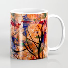Strings Attached - Acrylic Abstract Art painting Coffee Mug