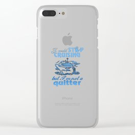 Cruise Lovers Clear iPhone Case