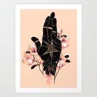 Ace of Pentacles Art Print