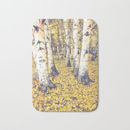 Golden Floor Bath Mat