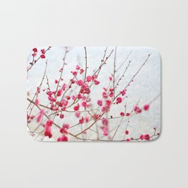 Beautiful Cherry Blossoms at the Imperial Palace in Kyoto, Japan Bath Mat
