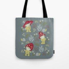 Melancholy Mushrooms Tote Bag