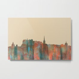 Edinburgh, Scotland, UK Skyline - Navaho Metal Print